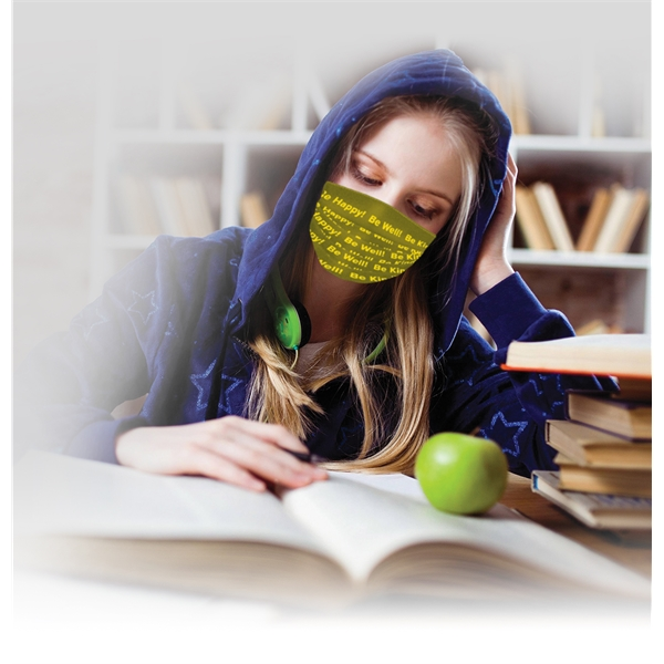 Custom Printed Face coverings,