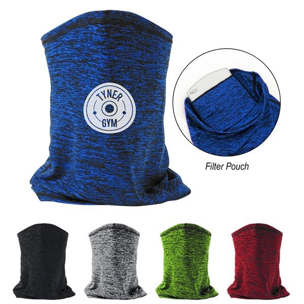 Heathered Cooling Gaiter With