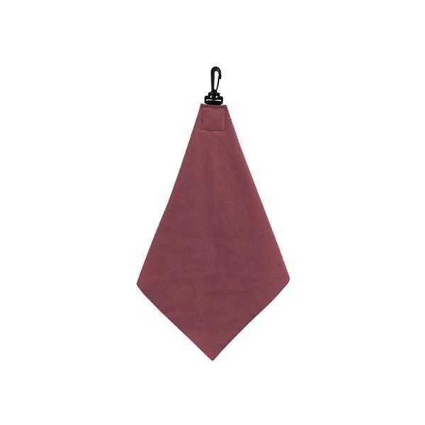 Microfiber colored golf towel