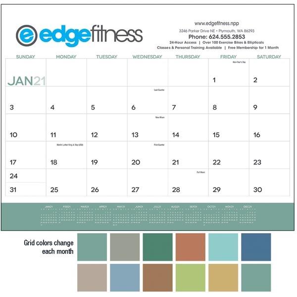 2021 Desk Calendar Pad.