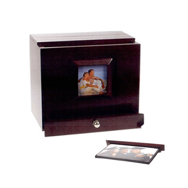 Photo album box with