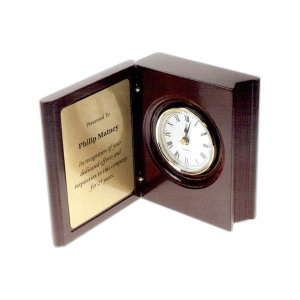 Promotional Desk Clocks-D051B-R