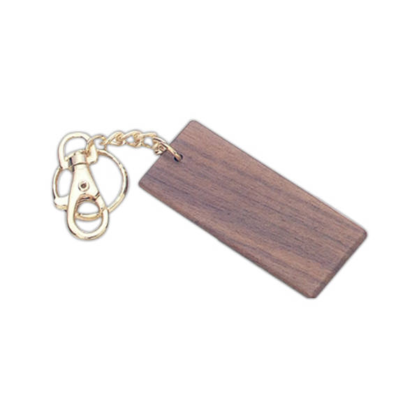 Rectangle shape wood key
