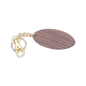 Promotional Wooden Key Tags-M019
