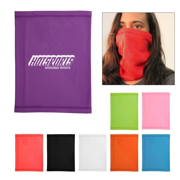 Multi-functional cooling gaiter that's