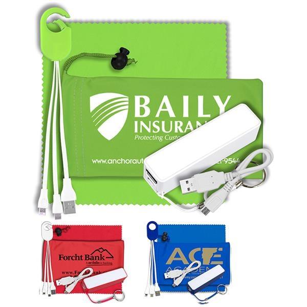 Power bank accessory kit.