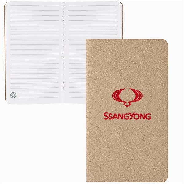 Mini notebook made from