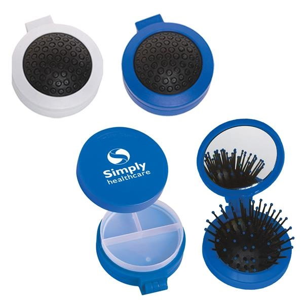 3-In-1 Brush And Pill