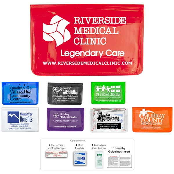 9 piece first aid