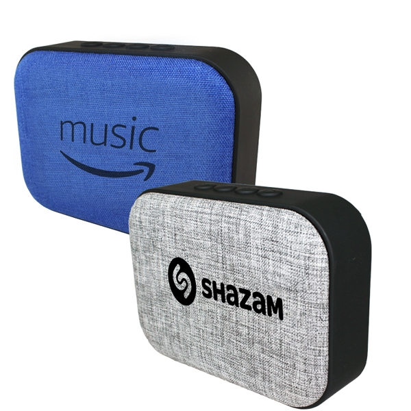 Fabric Wireless Speaker/Radio