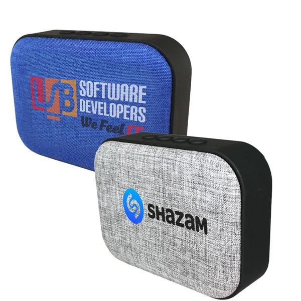 Fabric Wireless Speaker/Radio, Full