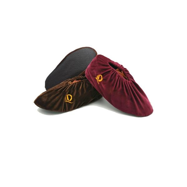 Shoe covers made with