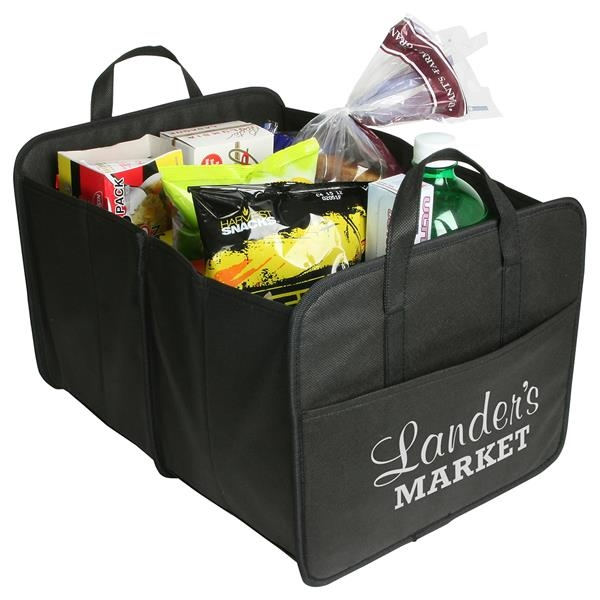 Expandable trunk organizer features