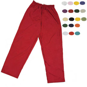 Blank, adult scrub pants