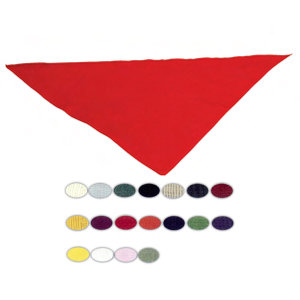 Blank, triangular bandanna, 20