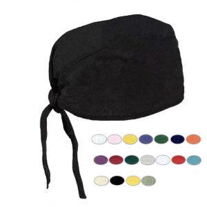 Blank, scrub cap.