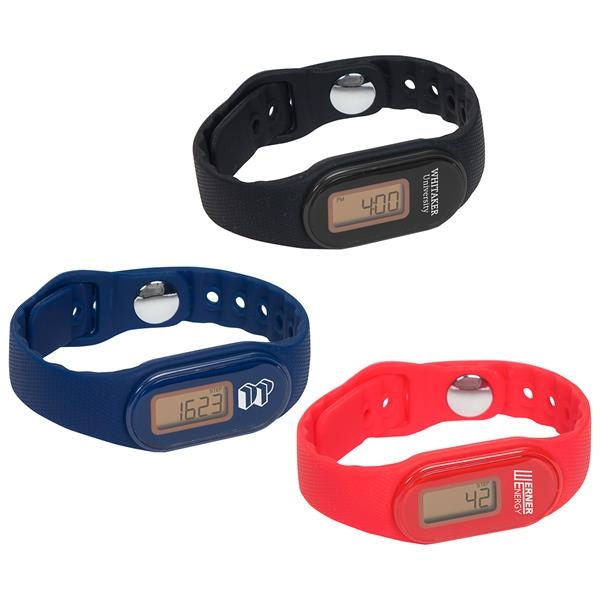 Pedometer watch with a