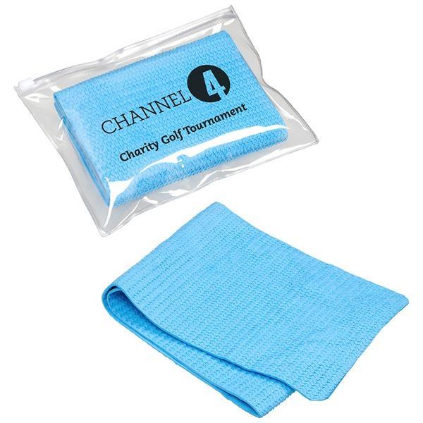 Glacial cooling towel.