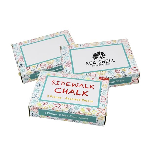 Sidewalk Chalk 3 Pack.