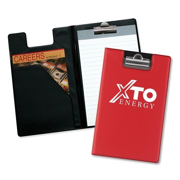 Writing pad with diagonal