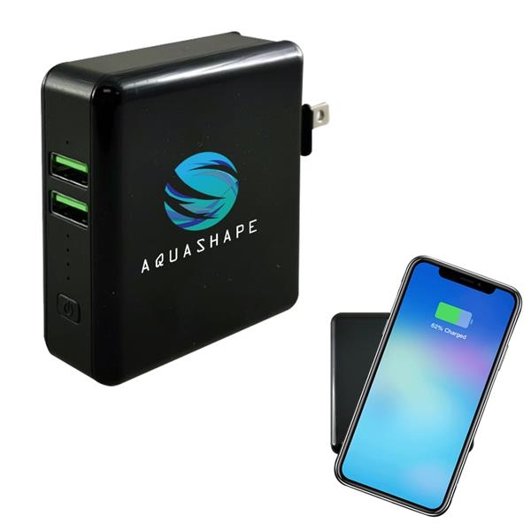 Wireless super Qi-enabled charging