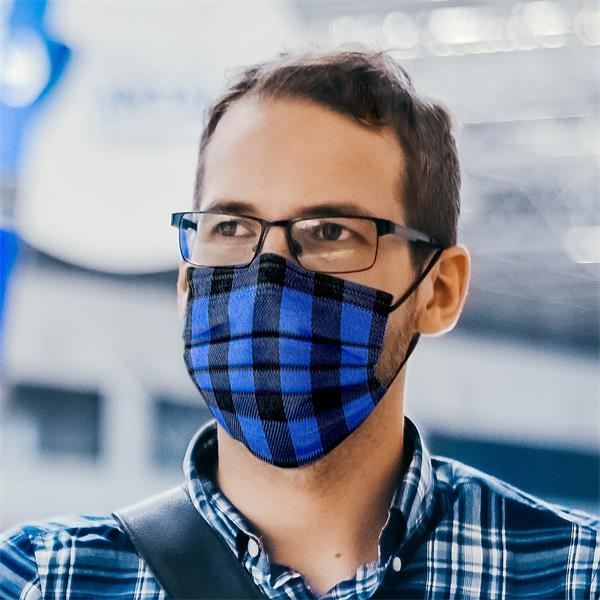 3-Ply Plaid Breathable Melt-Blown