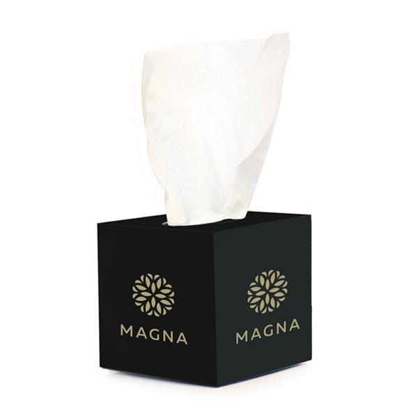 Mini tissue boxes.
