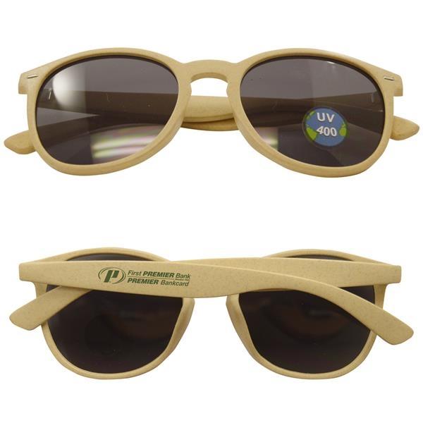 Nirvana Bamboo Sunglasses With