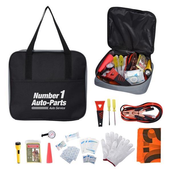 Auto emergency kit with