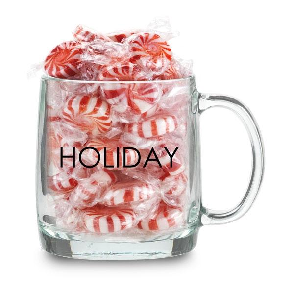 12 oz. glass mug