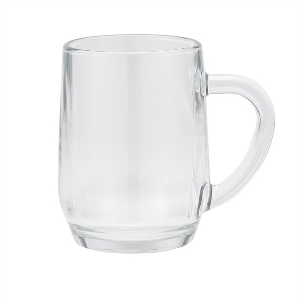 10 oz glass mug