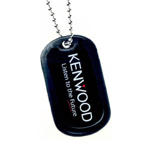 Stainless steel dog tag,