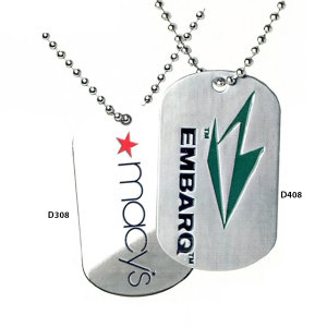 Promotional Dog Tags-D408