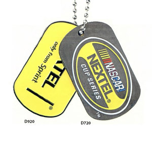 Iron dog tag, 2.0mm
