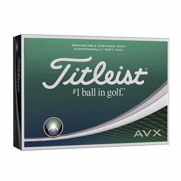 Titleist AVX golf balls