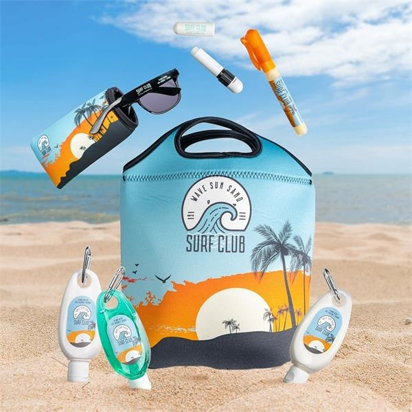 Summer kit with lotion,
