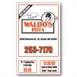 Promotional Business Card Magnets-MG19524