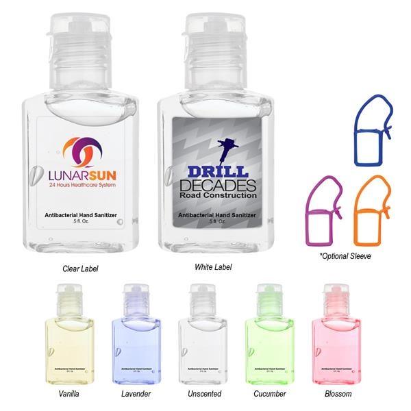 0.5 oz Hand Sanitizer.