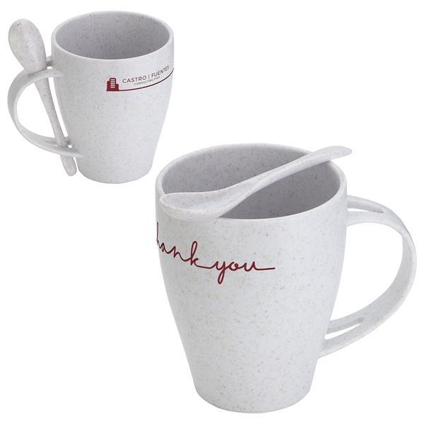 12 oz Bamboo/Polypropylene Mug