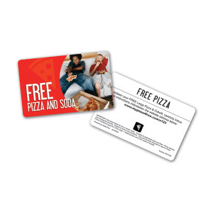 Promotional Pre-paid Phone Cards-PIZZA-C-01
