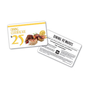 Promotional Gift Cards-DIN-B-25