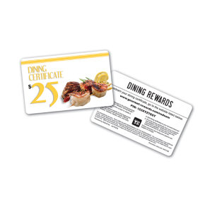 Promotional Gift Cards-DIN-E-01