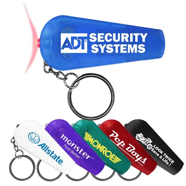 Whistle/Light key chain.