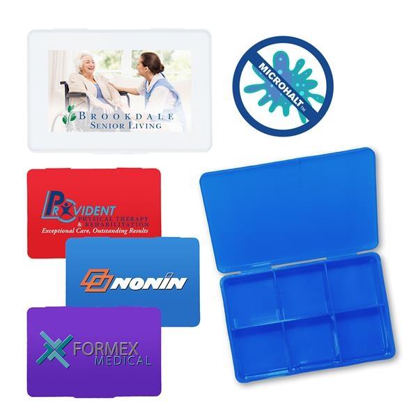 MicroHalt Pill Box, Full