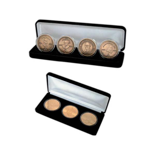 Multi-coin display box.