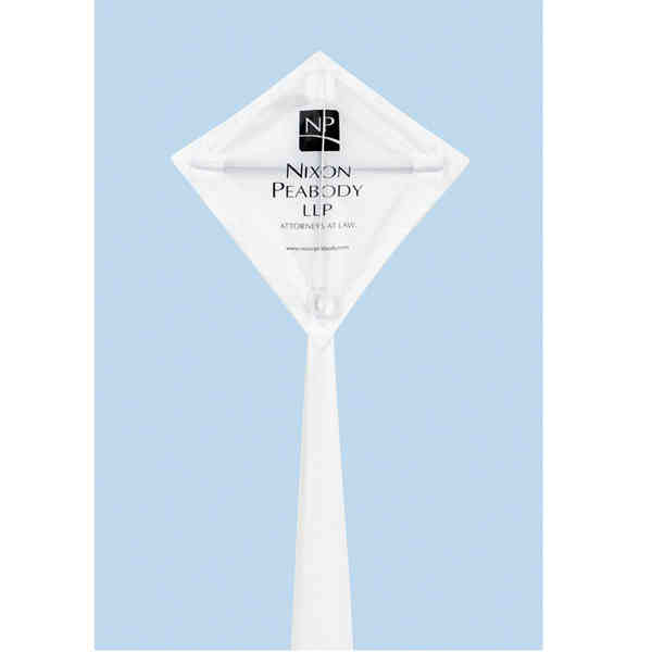 Mini diamond kite with