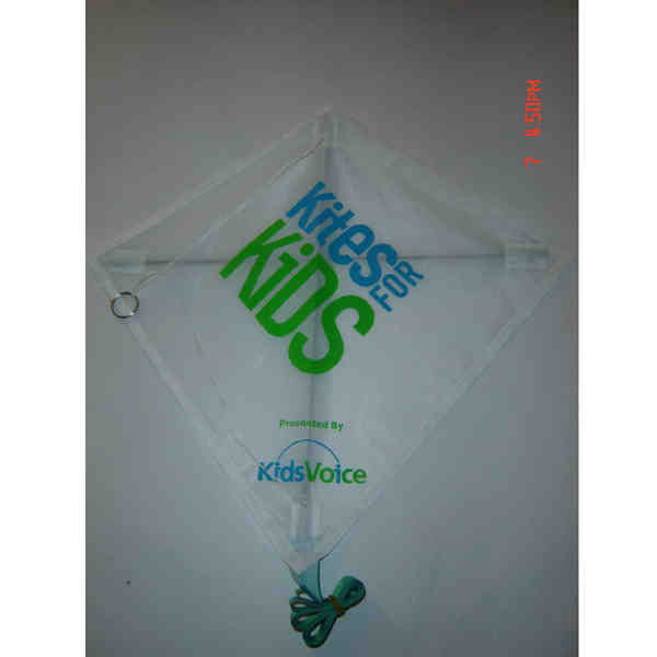 Mini diamond kite with
