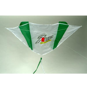 Parafoil kite with tails,