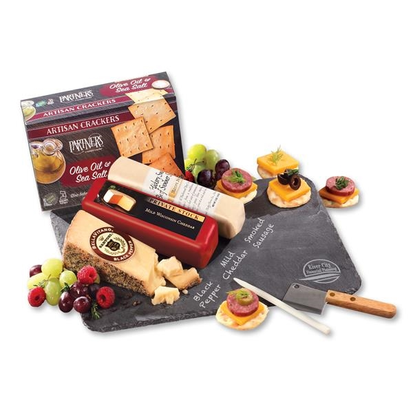 slate cheese plate packaged