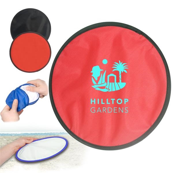 Collapsible flying disc that